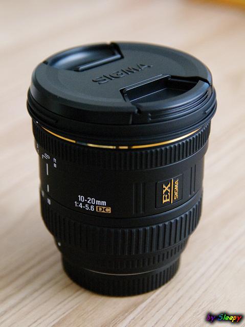 簡單開箱-Sigma 10-20mm F4-5.6